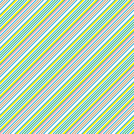 Yellow diagonal striped seamless pattern background suitable for fashion textiles, graphics Standard-Bild - 157134022