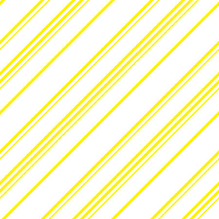 Yellow diagonal striped seamless pattern background suitable for fashion textiles, graphics Standard-Bild - 157134799