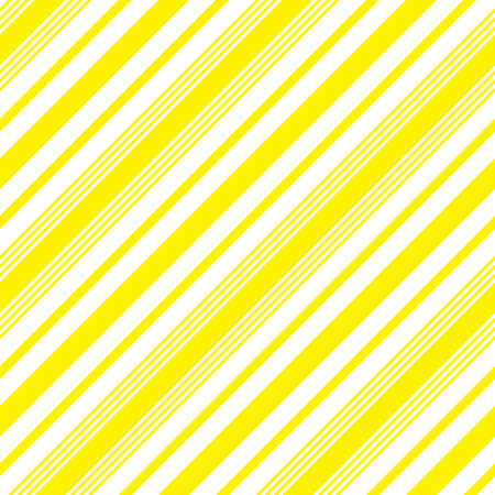 Yellow diagonal striped seamless pattern background suitable for fashion textiles, graphics Standard-Bild - 157134981