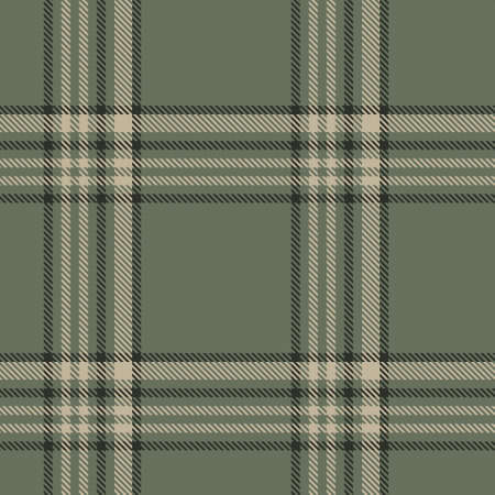 Green Glen Plaid textured seamless pattern suitable for fashion textiles and graphics Vektorové ilustrace