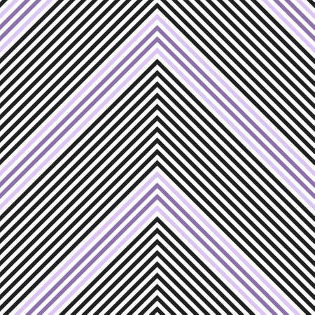 Purple Chevron diagonal striped seamless pattern background suitable for fashion textiles, graphics Ilustracja