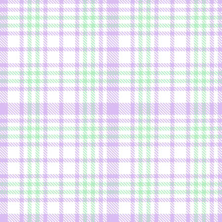Purple Glen Plaid textured seamless pattern suitable for fashion textiles and graphics Ilustração