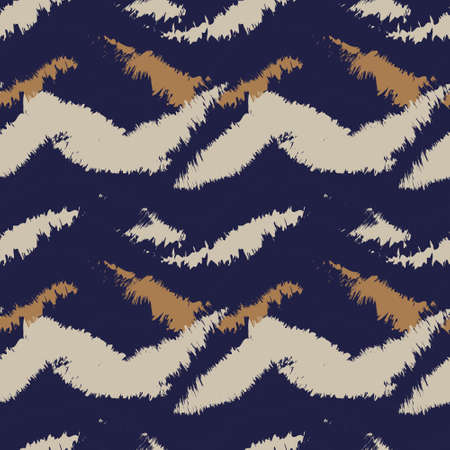 Brown Brush stroke fur pattern design for fashion prints, homeware, graphics, backgrounds 免版税图像 - 157770850