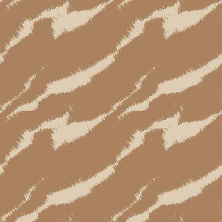 Brown Brush stroke fur pattern design for fashion prints, homeware, graphics, backgrounds