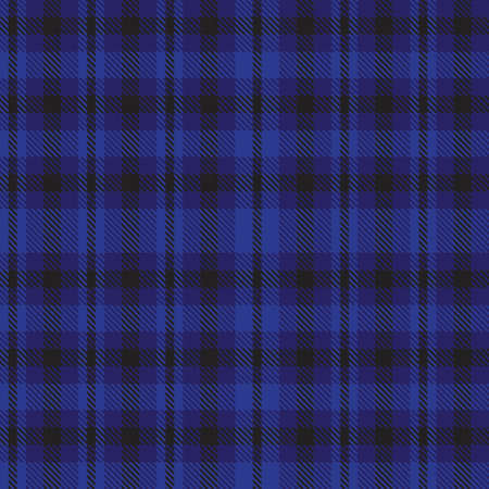 Blue Ombre Plaid textured seamless pattern suitable for fashion textiles and graphics