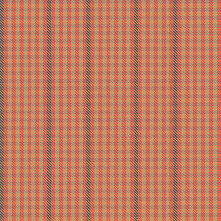Orange Ombre Plaid textured seamless pattern suitable for fashion textiles and graphics