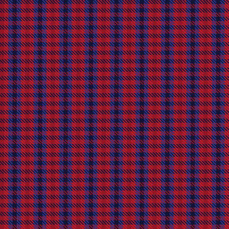 Red Navy Ombre Plaid textured seamless pattern suitable for fashion textiles and graphics Illustration