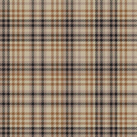 Brown Ombre Plaid textured seamless pattern suitable for fashion textiles and graphics Illustration