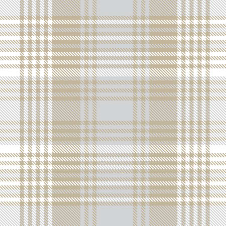 Brown Ombre Plaid textured seamless pattern suitable for fashion textiles and graphics Stock Illustratie