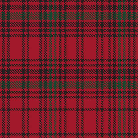 Christmas Ombre Plaid textured seamless pattern suitable for fashion textiles and graphics 矢量图像
