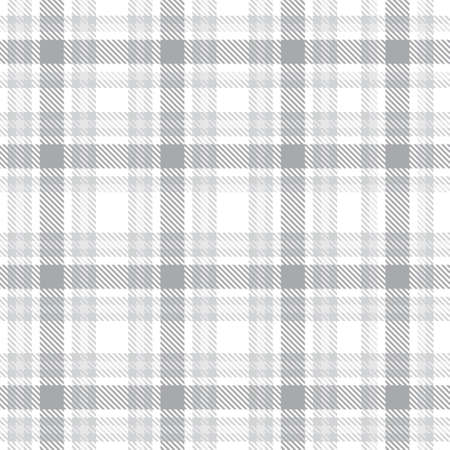 White Ombre Plaid textured seamless pattern suitable for fashion textiles and graphics 免版税图像 - 162138233