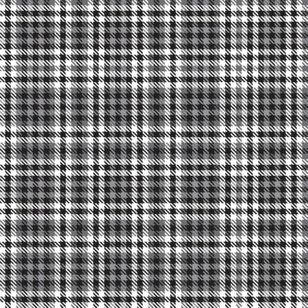 Black and White Ombre Plaid textured seamless pattern suitable for fashion textiles and graphics 免版税图像 - 162138234