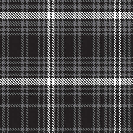 Black and White Ombre Plaid textured seamless pattern suitable for fashion textiles and graphics 免版税图像 - 162138235