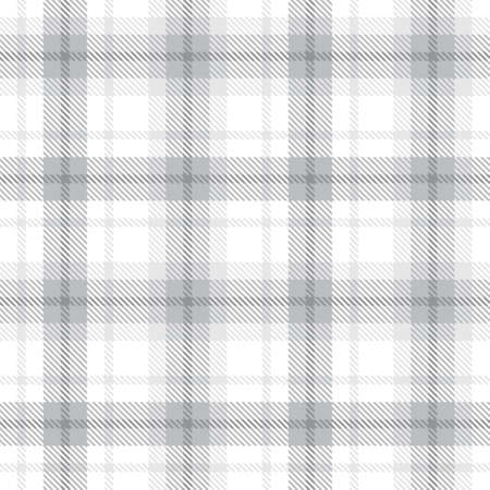 White Ombre Plaid textured seamless pattern suitable for fashion textiles and graphics 免版税图像 - 162138236