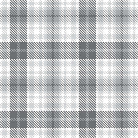 White Ombre Plaid textured seamless pattern suitable for fashion textiles and graphics 免版税图像 - 162138242