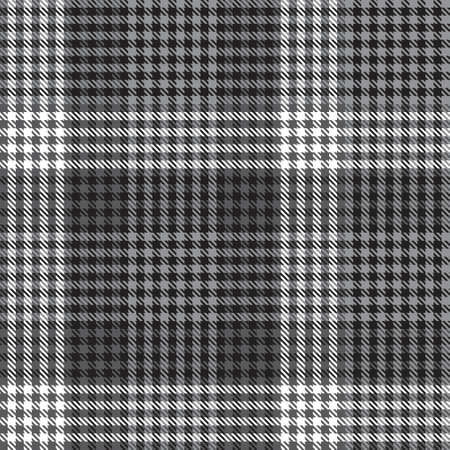 Black and White Ombre Plaid textured seamless pattern suitable for fashion textiles and graphics 免版税图像 - 162138247