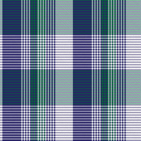 Blue Asymmetric Plaid textured seamless pattern suitable for fashion textiles and graphics 矢量图像