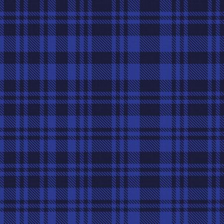 Blue Asymmetric Plaid textured seamless pattern suitable for fashion textiles and graphics Ilustración de vector