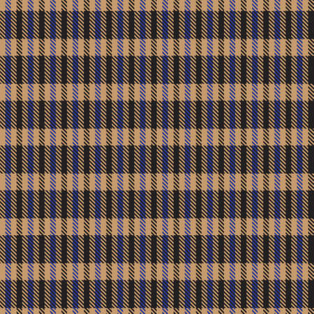 Brown Asymmetric Plaid textured seamless pattern suitable for fashion textiles and graphics Vector Illustratie