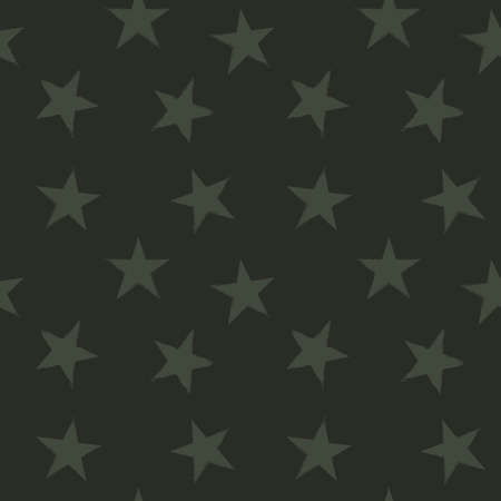 Green Stars brush stroke seamless pattern background for fashion textiles, graphics