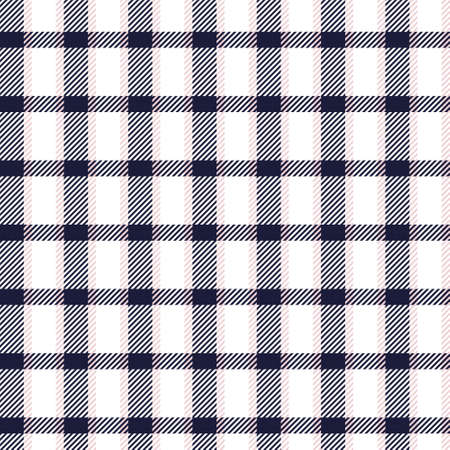 Pink Navy Asymmetric Plaid textured seamless pattern suitable for fashion textiles and graphics