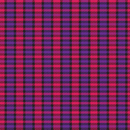 Purple Asymmetric Plaid textured seamless pattern suitable for fashion textiles and graphics 免版税图像 - 162138515