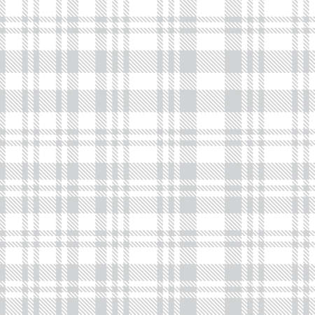 White Asymmetric Plaid textured seamless pattern suitable for fashion textiles and graphics