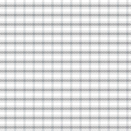 White Asymmetric Plaid textured seamless pattern suitable for fashion textiles and graphics 免版税图像 - 162138666