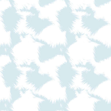 Sky blue Brush Stroke Camouflage abstract seamless pattern background suitable for fashion textiles, graphics 免版税图像
