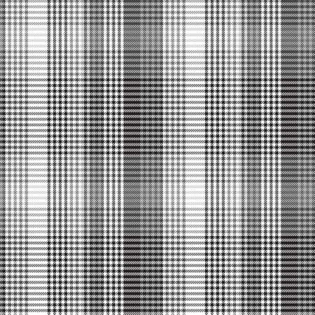 Black and White Asymmetric Plaid textured seamless pattern suitable for fashion textiles and graphics 免版税图像 - 162138680