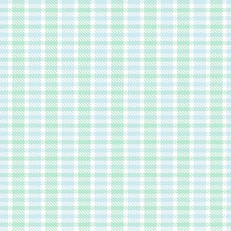 Sky Blue Asymmetric Plaid textured seamless pattern suitable for fashion textiles and graphics Vettoriali