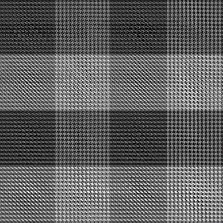 Black and White Asymmetric Plaid textured seamless pattern suitable for fashion textiles and graphics 免版税图像 - 162138770