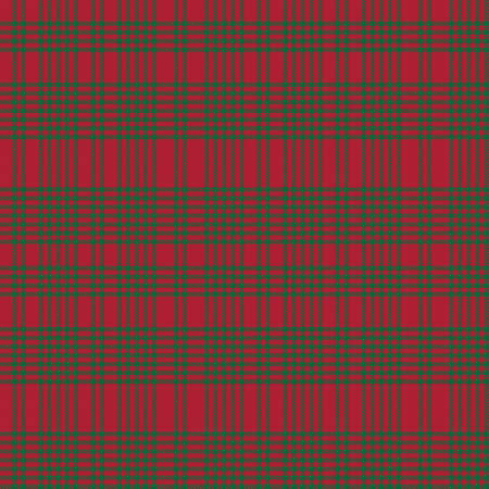 Christmas Asymmetric Plaid textured seamless pattern suitable for fashion textiles and graphics 免版税图像 - 162138790