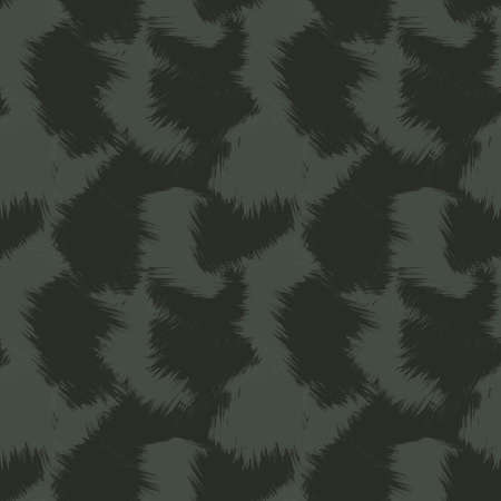 Green Brush Stroke Camouflage abstract seamless pattern background suitable for fashion textiles, graphics 免版税图像 - 162138793