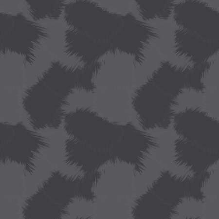 Grey Brush Stroke Camouflage abstract seamless pattern background suitable for fashion textiles, graphics 免版税图像 - 162138799