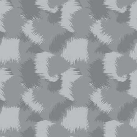 Grey Brush Stroke Camouflage abstract seamless pattern background suitable for fashion textiles, graphics