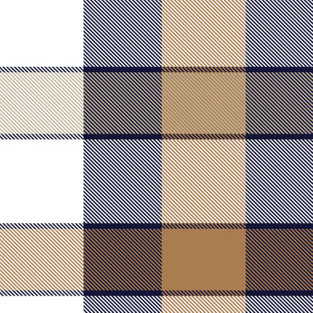 Brown Asymmetric Plaid textured seamless pattern suitable for fashion textiles and graphics