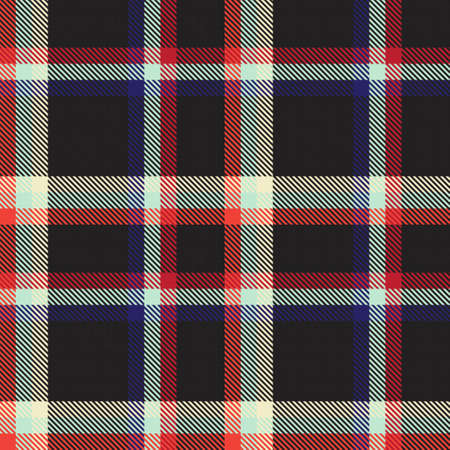 Colourful Plaid textured seamless pattern for fashion textiles and graphics