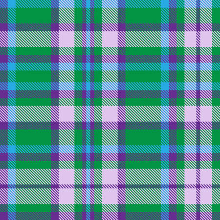 Colourful Plaid textured seamless pattern for fashion textiles and graphics 矢量图像