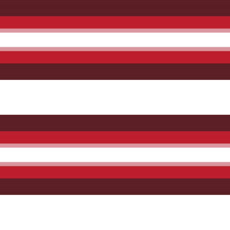 Red Horizontal striped seamless pattern background suitable for fashion textiles, graphics