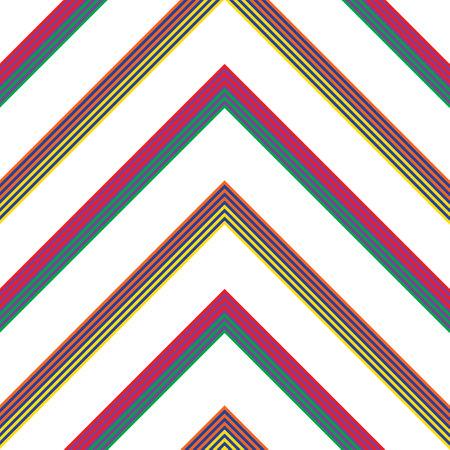 Chevron diagonal striped seamless pattern background suitable for fashion textiles, graphics
