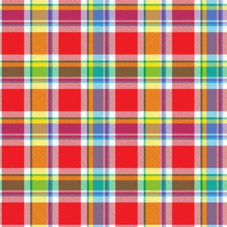 Plaid, checkered, tartan seamless pattern suitable for fashion textiles and graphics