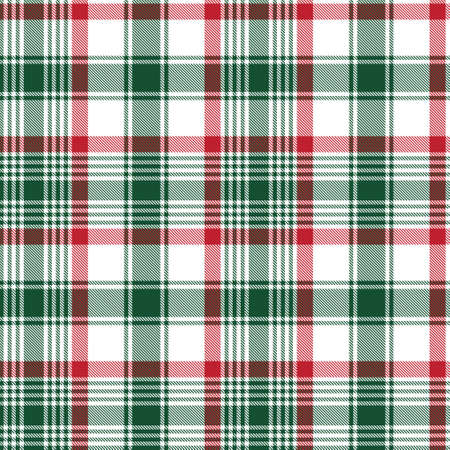 Christmas Ombre Plaid textured seamless pattern suitable for fashion textiles and graphics Vector Illustration