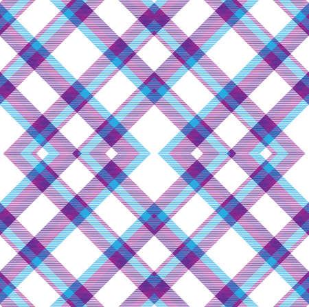 Purple Argyle Plaid Tartan textured Seamless pattern design suitable for fashion textiles and graphics
