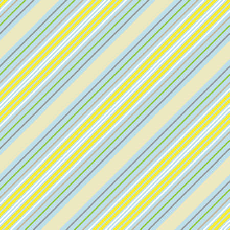 Colourful diagonal striped seamless pattern background suitable for fashion textiles, graphics Иллюстрация