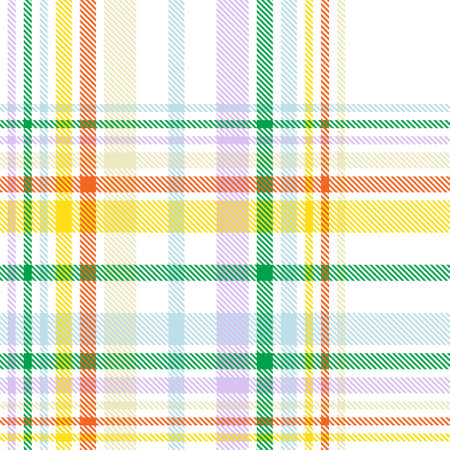 Rainbow Plaid, checkered, tartan seamless pattern suitable for fashion textiles and graphics Foto de archivo - 168171420