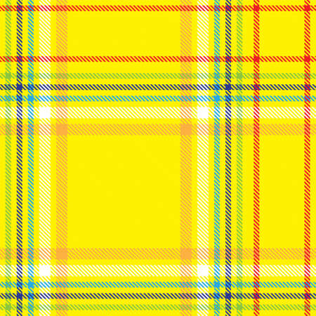 Colourful Plaid textured seamless pattern for fashion textiles and graphics Foto de archivo - 168170397