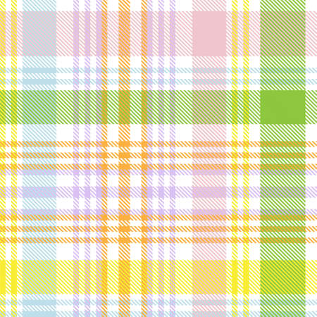 Colourful Plaid textured seamless pattern for fashion textiles and graphics Foto de archivo - 168176412