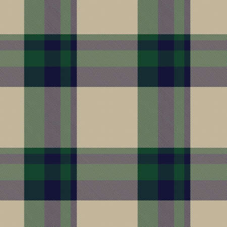 Green Asymmetric Plaid textured seamless pattern suitable for fashion textiles and graphics Ilustración de vector