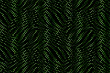 Full Seamless Onamental Snake Animal Skin Pattern Vector. Monochrome snake leather design for textile fabric print. Green snake leather pattern for bag, shoes, tight, dress and fabric.